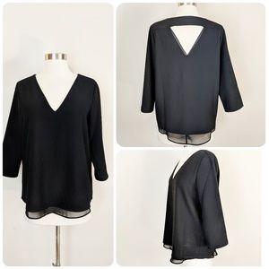 | Sale | c & e • Black Blouse